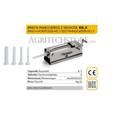 Embutidora Reber 8960 N  5 Kg.