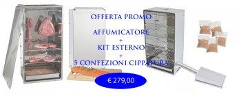 Oferta Ahumador kit completo y externo 6 Kg.Virutas