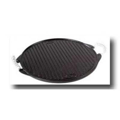 Plancha de Asar Vitrificada de hierro fundido  Ø 42 cm