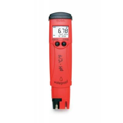 Medidor de pH Hanna - HI 98128 pHtester impermeable