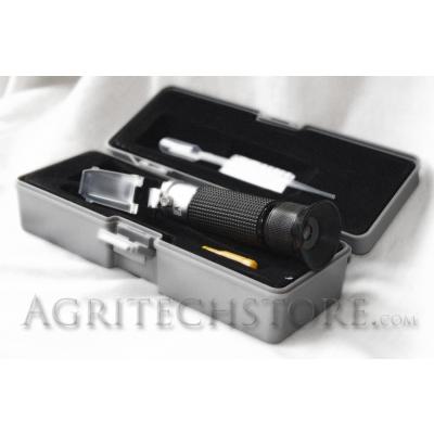Refractómetro de glicol óptica y Baterías