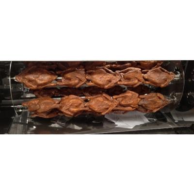 Kit completo Asador de pollos 120 3 espadas 15/18 pollos