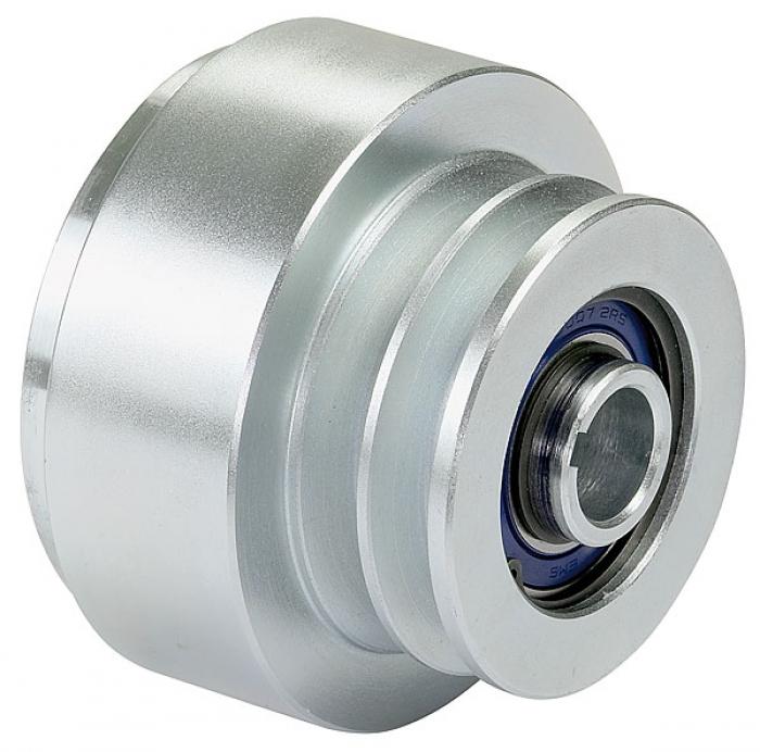 Centrífuga diámetro de la polea del embrague 95 mm. Una garganta