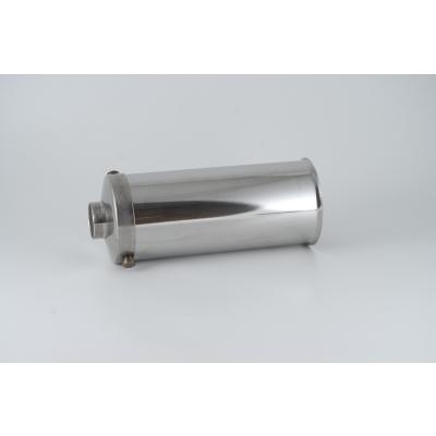 Cilindro de acero inoxidable para embutidora Reber 3 Kg