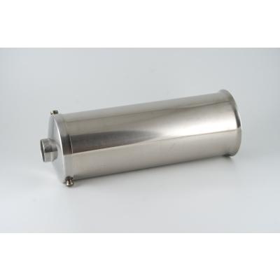 Cilindro de acero inoxidable para embutidora Reber 10 Kg