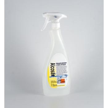 Alcosan - Detergente desinfectante Alcohólico 750 ml.