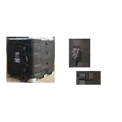 Calienta barriles para Contenedor en palé de 1.000 litros