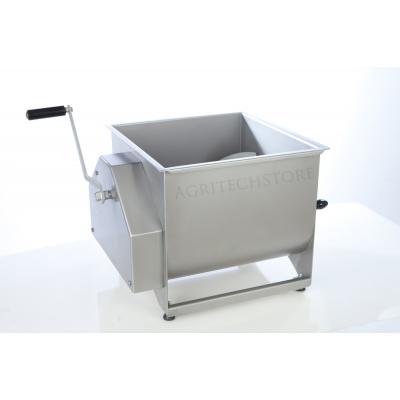 Mezcladora de Carne con Doble Paleta de acero de 60 Kg.