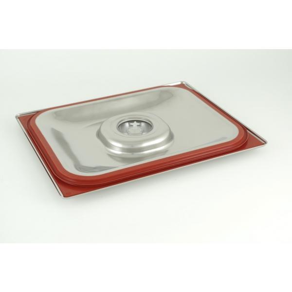 Tapadera de acero inoxidable 1/2 Gastronorm para cocción al vacío