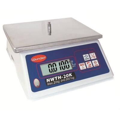 Balanza Compacta Multifuncional con capacidad de 20 kg