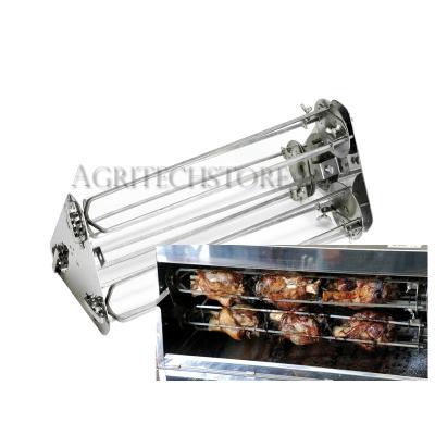 Kit Asador Planetario para Codillos y gallitos de 100 cm con 6 Espadas