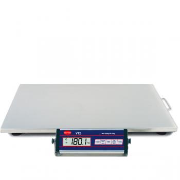 Báscula VT2 150/300 kg INOX de acero inoxidable - Capacidad 300 Kg.
