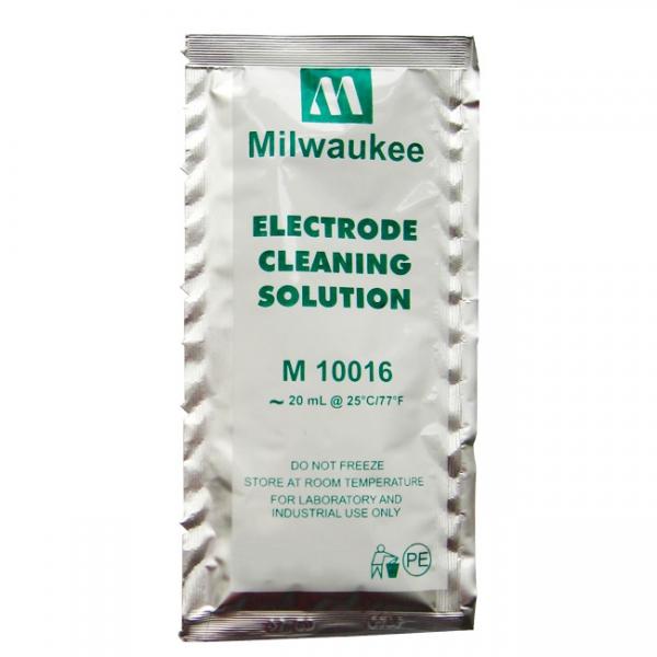 Solución de limpieza para electrodos en sobres de 20 ml M10016B