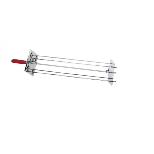 Satélite para Asador 4 Espadas de 70 cm. 0546 + Varilla