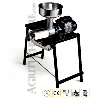 Tomatera eléctrica Reber n°5 9005N  500 Vatios con tabla