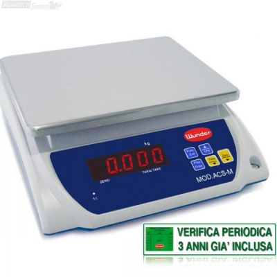 """Balanza de Mesa """"Certificada"""" Multiuso Rango 15/30 Kg"""