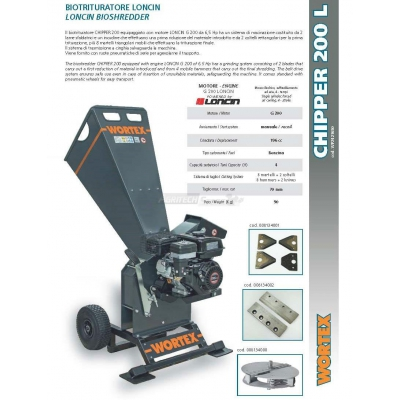 Trituradora Chipper CHIPPER T 200 L