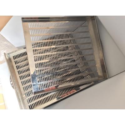 Bandeja para deshidratadora Reber inoxidable AISI 316