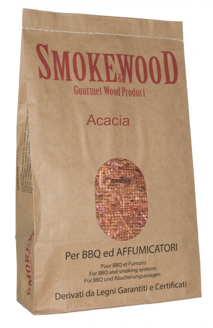 Maderas seleccionadas Acacia Alpina para Affumicatura