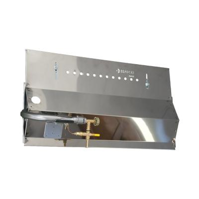 Panel de gas para Asador 100 cm  de 4 Espadas
