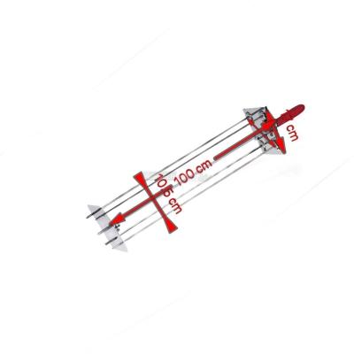 Satélite Asador 4 Espadas 100 cm. 0546B + Varilla