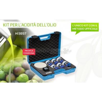 Kit de prueba para la acidez del aceite de oliva virgen extra HI3873