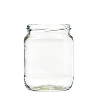 Tarro de vidrio para Alimentos 580 gr. cierre TO 82 mm